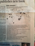 Reading Eagle, Fifteen Times around the World article map
